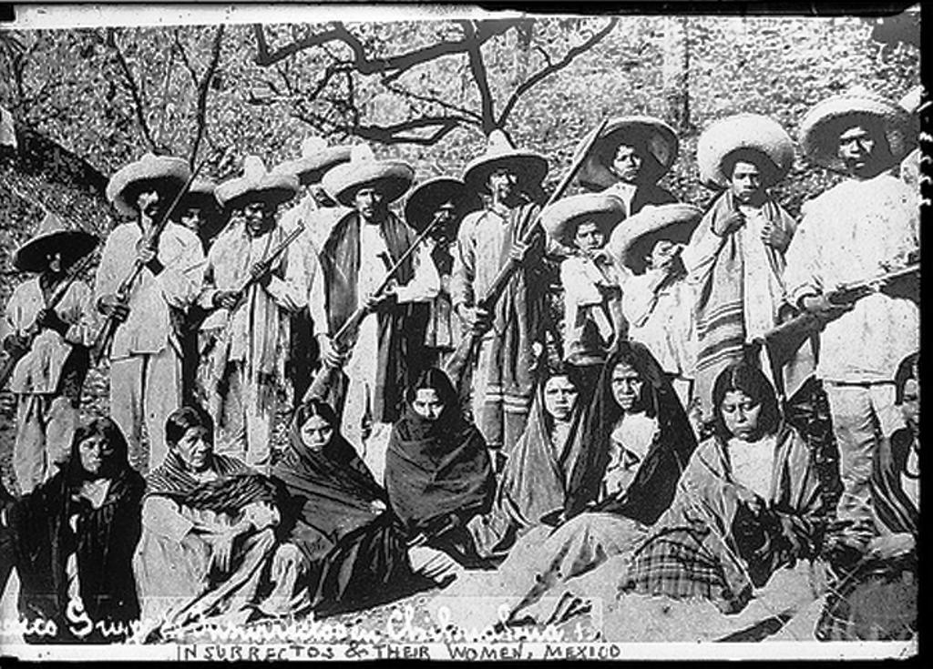 Insurrectos de Chihuahua Archivo Congreso de EU